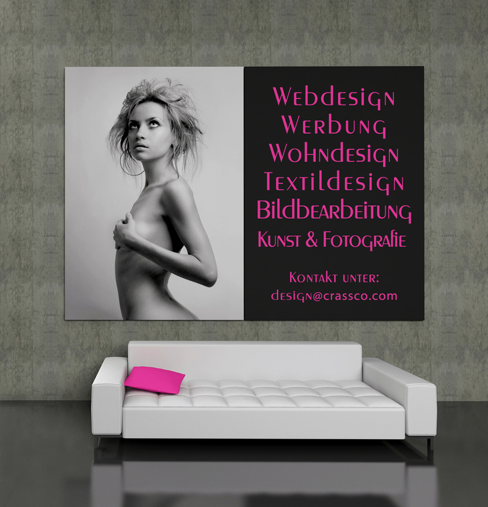 GRAFuTEX and CRASSCO - Advertising and design - Werbung und Design